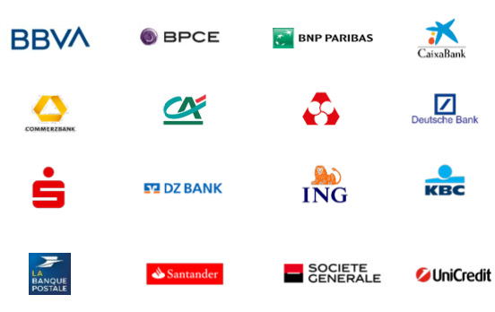 Banks currently involved in the EPI